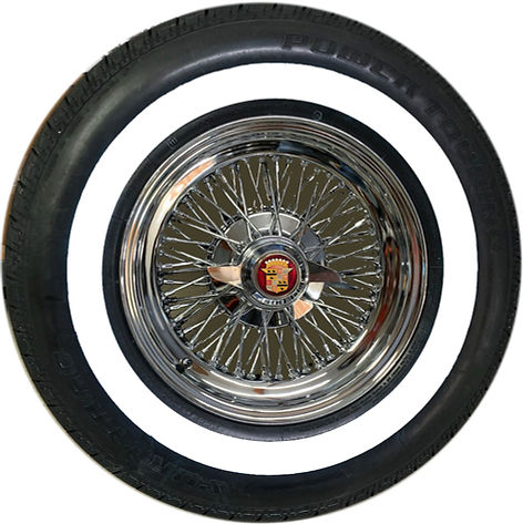 Truewire DeVille 72 Cadillac and Whitewall Tire Package