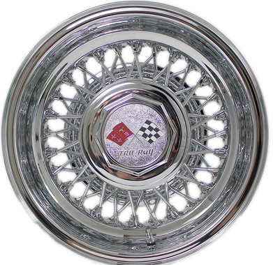 Trueray 56 Spoke Cross-Lace Wire Wheel with HEX