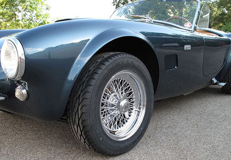 Ford Cobra with Truespoke Restored Wire Wheels