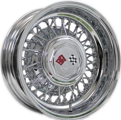56 Spoke Cross-Lace Trueray Wire Wheels