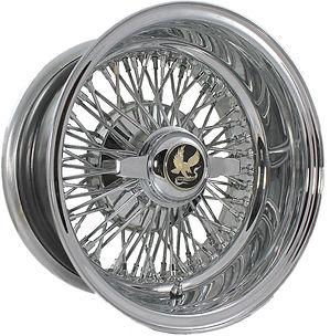 72 Spoke Cross-Lace Wire Wheel