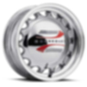 Chrome Artillery Wheel with '41-47 Chevrolet Hubcaps