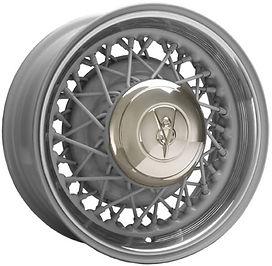 Hot Rod 52 Bare Wire Wheels