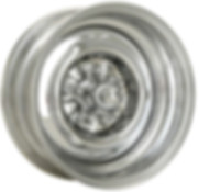 OEM Chrome Reverse Wheel With Spider Cap
