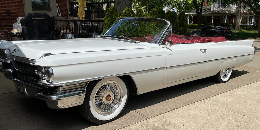 1963 Cadillac with Truespoke Sabre Wheels