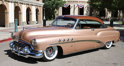 Buick Show Car on wire wheels