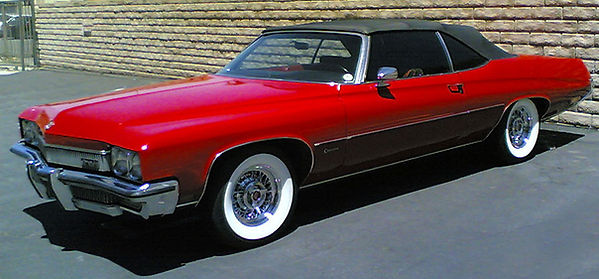1972 Buick on wire wheels