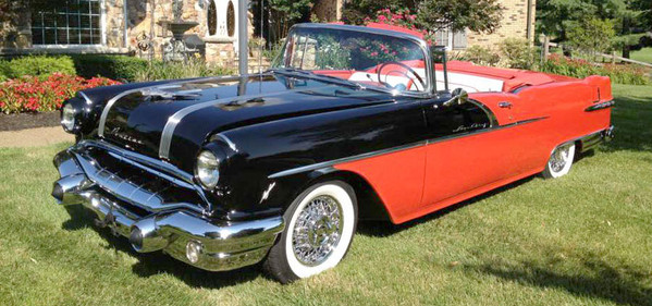 1956 Pontiac with Truespoke® wire wheels