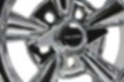 2-bladed spinner cap for Truespoke Supreme wheels