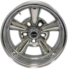 Supreme chrome wheel by Truespoke
