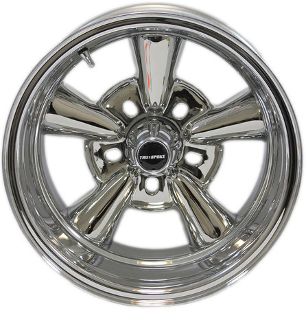 Supreme chrome wheel by Truespoke