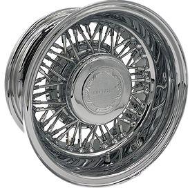 Trueclassic® Wire Wheel has 50 Spokes