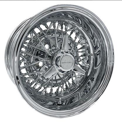 45 Spoke Reverse style Truespoke® Wire Wheel