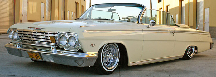 Chevrolet Impala with Truespoke wire wheels