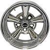 Astro Custom Supreme Chrome Wheel by Truespoke