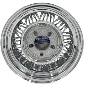 This is the backside of the Trueclassic® Wire Wheel. It is just as beautiful as the front