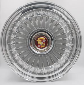 Billet aluminum Sabre Style Cadillac Wheel