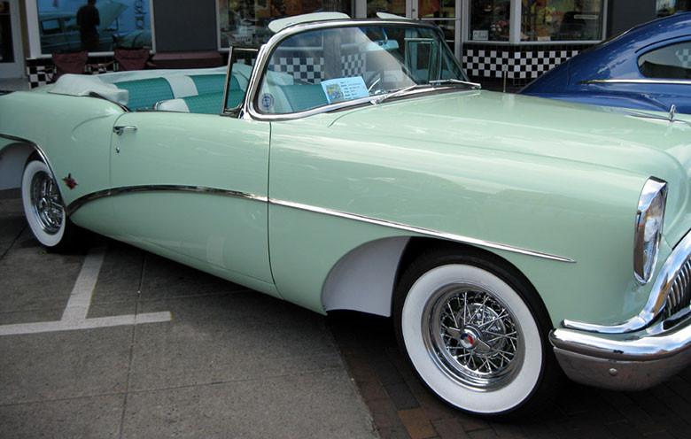 Buick Skylark with wire wheels restored by Truespoke