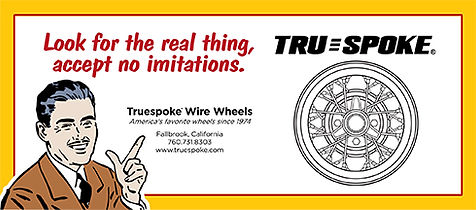 The Truespoke name and wheel designs are Registered Trademarks