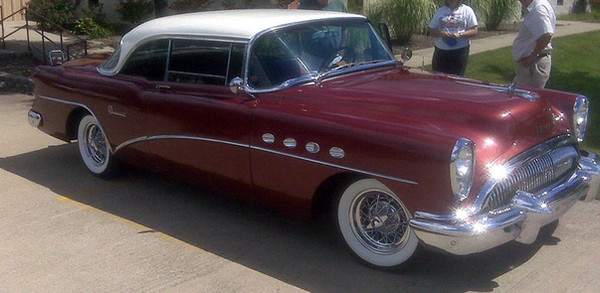 Buick Special with Truespoke® restored Skylark wire wheels