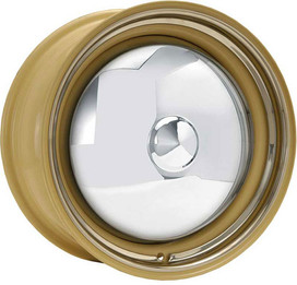 Bare OEM powder-coated Camel color with a smooth trim ring. Standard