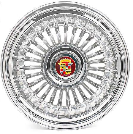Cadillac Billet Aluminum Sabre Wheel