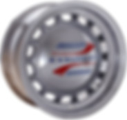 Chrome Artillery Wheels