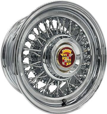 Cadillac Wire Wheels by Truespoke