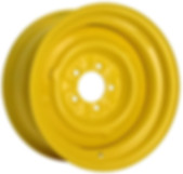 OEM Bare Steel Wheel Powdercoated Bengal Yellow