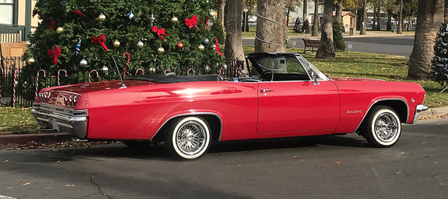 1965 Impala with Dayton Wire Wheels