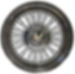 Truewire® STANDARD wire wheel with HEX knock-off cap