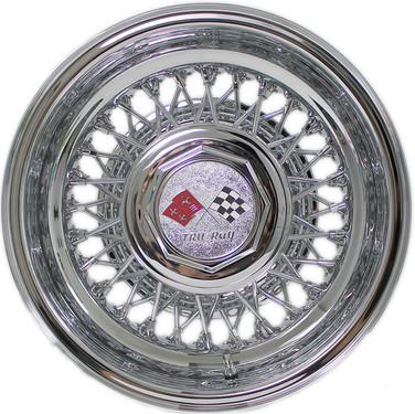 56 Spoke Cross Lace Trueray Wire Wheels