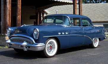1954 Buick on wire wheels
