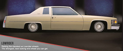 Cadillac with Dayton Knock-Off Wire Wheels