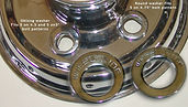 Supreme washers are included with the lug nut kit or sold separately