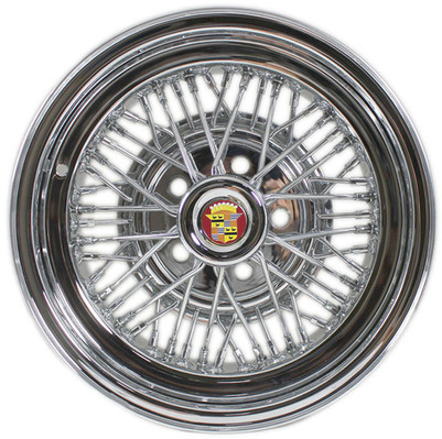 Cadillac Brougham 50 Wire Wheel