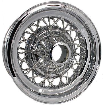 Restored original Keley Hayes Skylark wire wheel