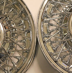 Comparison of stainless steel and chrome wire wheels