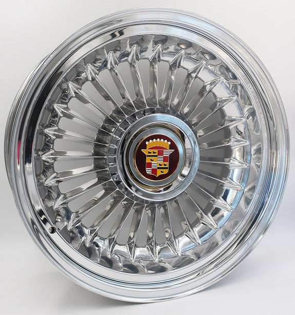 Cadillac Billet Aluminum Sabre Style Wheel