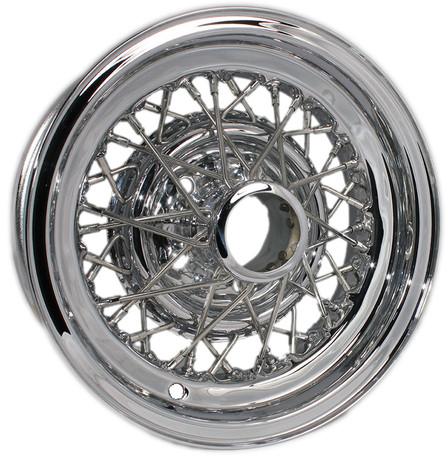 Buick Skylark wire wheel restoration by Truespoke