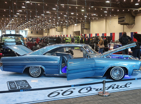 Lowrider of the Month - 1966 Chevrolet Impala on Truespokes