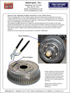 Removal of Weights on Brake Drums