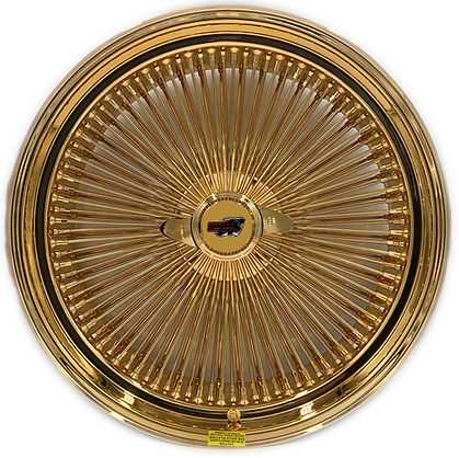 Dayton Wire Wheels Gold Plating