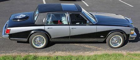 Cadillac Seville Elegante' with Truespoke Brougham 50 wire wheels