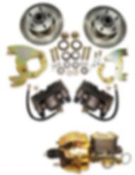 Disc brake conversion kit for Cadillac