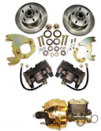 Disc brake conversion kit for Cadillac