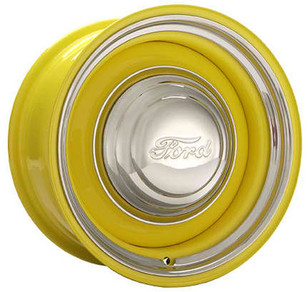 Smoothie Wheel Smooth Trim Ring 1941 Ford Hubcap