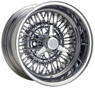Truespoke Wire Wheel with 3 Bar Spinner