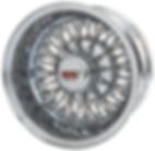 Dayton Wire Wheels 72 Spoke Cross-Lace