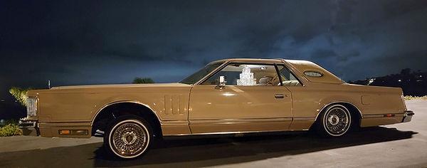 1979 Lincoln MK V with Trueray Wire Wheels